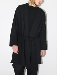 Oak Robe Coat Black Oak