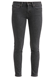 Lee Scarlett Slim Fit Jeans Black Wash Dark Gray