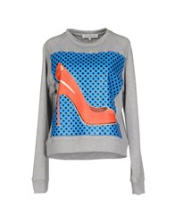 Leitmotiv Topwear Sweatshirts Women Light Grey