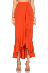 Rachel Zoe Gisele Maxi Skirt Orange