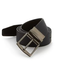 Giorgio Armani Reversible Leather Belt Night Sky