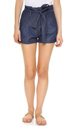 Frame Le Paperbag Shorts Pearldom