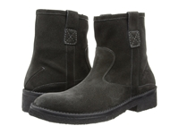 Cnc Costume National Suede Side Zip Boot Grey