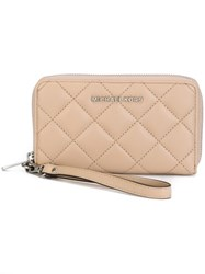 Michael Michael Kors 'Jet Set Travel' Phone Wallet Nude And Neutrals