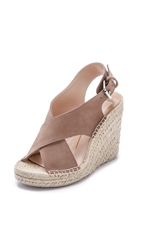 Dolce Vita Sovay Espadrille Wedge Sandals Taupe