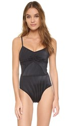 Adidas By Stella Mccartney One Piece Swimsuit Black