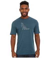 Merrell Polar Hound Graphic Tee Legion Blue Men's T Shirt Navy