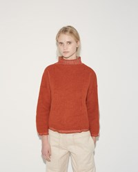 Eckhaus Latta Dolman Sweater Copper