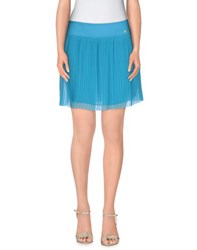 Amy Gee Skirts Mini Skirts Women Azure