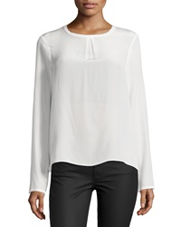 Nicole Miller Syracuse Solid Enzyme Top Ivory