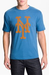 Men's Wright And Ditson 'New York Mets' Baseball T Shirt