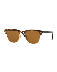 Ray Ban Ray Ban Clubmaster Havana Sunglasses Brown