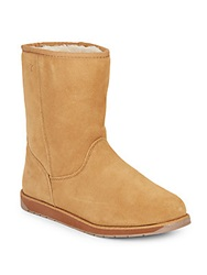 Emu Spindle Merino Wool Lined Suede Tall Boots