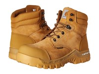 Carhartt 6 Rugged Flex Waterproof Work Boot Wheat Oil Tanned Leather Men's Work Boots Beige