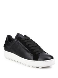 Coach 1941 Rip And Repair Lace Up Sneakers Black