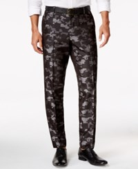 Inc International Concepts Men's Slim Fit Pixelated Camouflage Pants Only At Macy's Grey