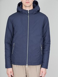 Folk Navy Wadded Jacket