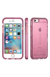 Speck 'Candyshell' Iphone 6 And 6S Case Purple Beaming Orchid Gold Glitter