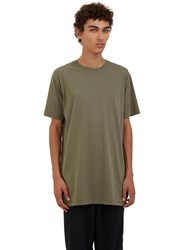 Katharine Hamnett X Ymc 'Don't Shoot' Crew Neck T Shirt Khaki