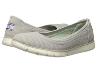 Bobs From Skechers Pureflex Taupe Women's Flat Shoes