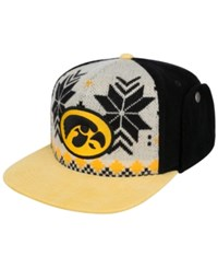 Top Of The World Iowa Hawkeyes Christmas Sweater Strapback Cap