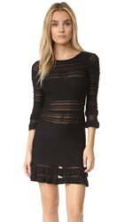 For Love And Lemons Knitz Rivington Dress Black