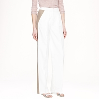 J.Crew Collection Wide Leg Trouser