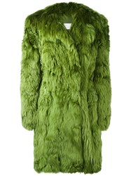 Maison Martin Margiela Fur Coat Green
