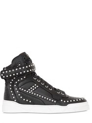 Givenchy Tyson Studded Leather High Top Sneakers