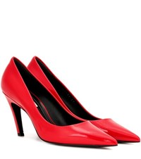Balenciaga Patent Leather Pumps Red