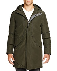 Cole Haan Hooded Military Parka Fatigue