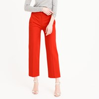 J.Crew Petite Patio Pant In Bi Stretch Cotton