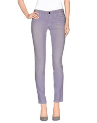 S.O.S By Orza Studio Denim Denim Trousers Women Lilac
