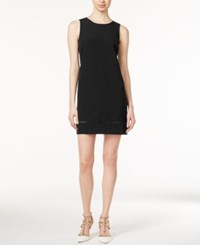 Maison Jules Lindsey Sleeveless Shift Dress Only At Macy's Deep Black