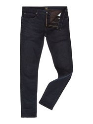Lee Malone Skinny Fit Mid Wash Jeans Blue