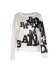 Band Of Outsiders Topwear Sweatshirts Women Ivory