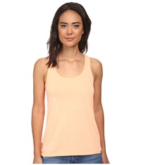 Hurley Solid Perfect Tank Top Heather Sunset Glow Women's Sleeveless Orange