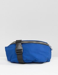 Asos Nylon Bum Bag Blue