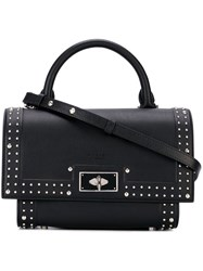 Givenchy Mini 'Shark' Crossbody Bag Black