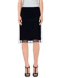 Emilio Pucci Skirts Knee Length Skirts Women Black