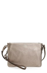 Vince Camuto 'Cami' Leather Crossbody Bag Metallic Bronze