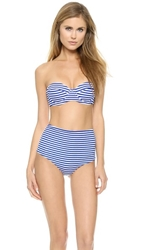 Zinke Taylor Underwire Top Blue Stripe