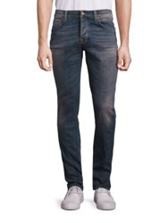 Nudie Jeans Light Washed Straight Fit Indigo Stone Wash