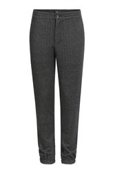 Vince Relaxed Pants With Wool Black
