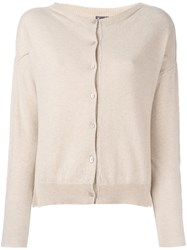 Kristensen Du Nord Classic Cardigan Nude And Neutrals