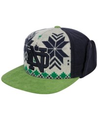 Top Of The World Notre Dame Fighting Irish Christmas Sweater Strapback Cap