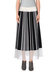 Viktor And Rolf 3 4 Length Skirts Black