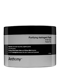 Anthony Logistics For Men Anthony Purifying Astringent Pads No Color