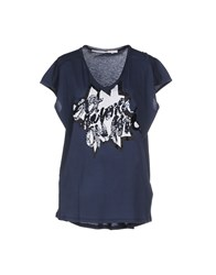 Schumacher Topwear T Shirts Women Dark Blue