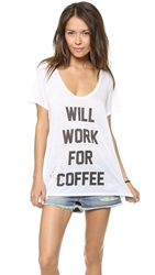 The Laundry Room Coffee Tee White